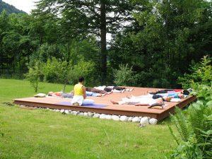 Yogahaus-Samvit-Plattform