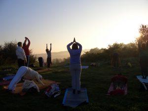 Yoga sunrise 2016