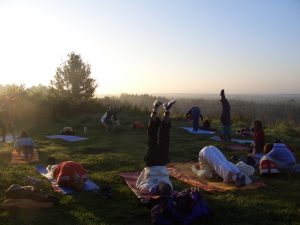 Yoga sunrise 2016
