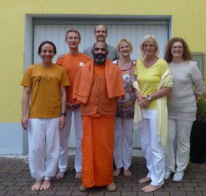 Besuch von Swami Tattva